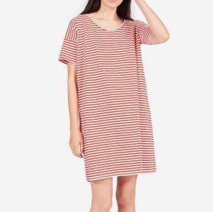 Everlane the cotton tee shirt dress
